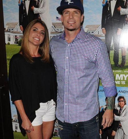 Laura Giaritta With Her Ex-Husband Vanilla Ice