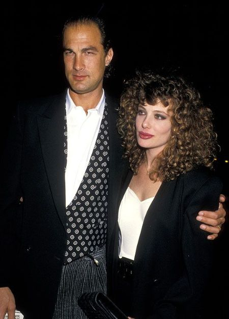 Steven Segal With ex-wife steven seagal and Kelly LeBrock