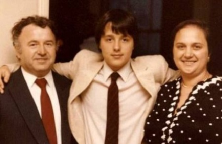 Felice with his family.