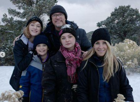 Heather Helm With Her Husband Matthew Lillard And Children