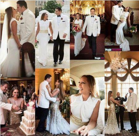 Jim Skrip's Lavish Wedding Ceremony With Actress And Singer Vanessa Williams