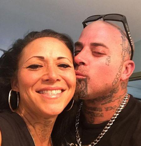 Troy Dendekker With Her Husband Kiki Holmes