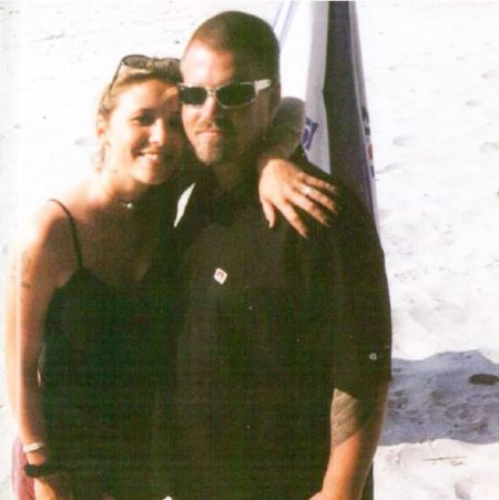 Troy Dendekker With Her Late Husband Bradley Nowell