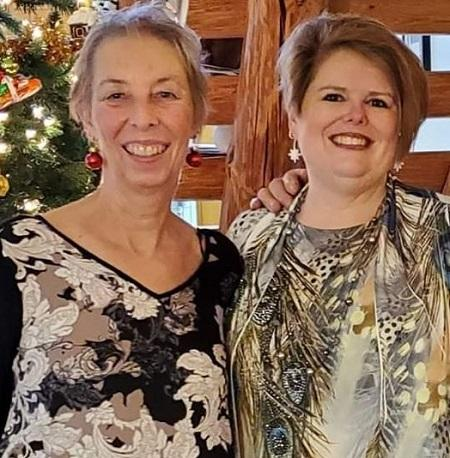 Diane Pol with her adoptive daughter.