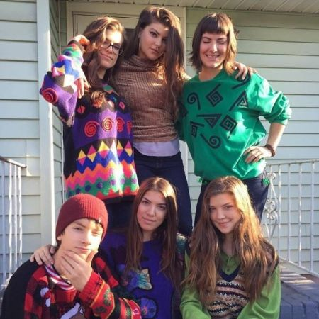 Catherine Missal With Her Siblings