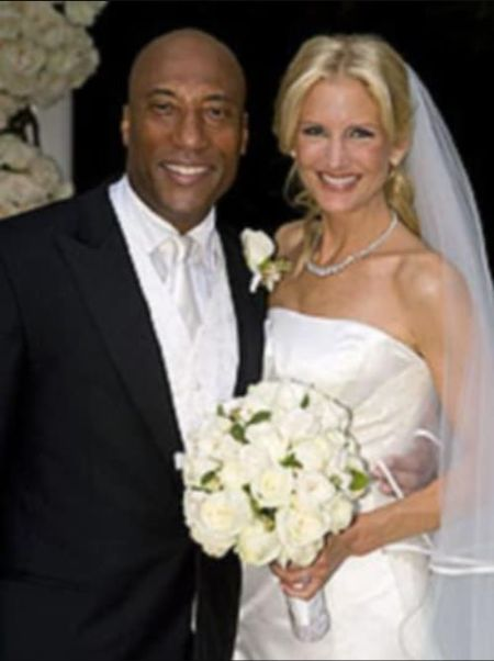 Byron Allen Wife At The Time Of Their Wedding