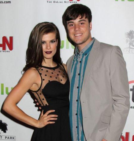 Kelley Missal With Her Boyfriend Tyler Scharnikow