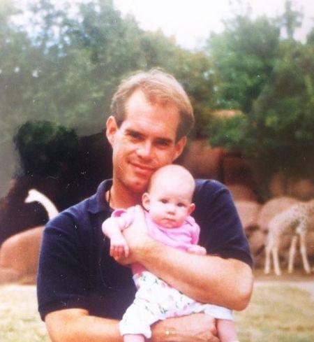 Natalie With Her Dad Joe Buck