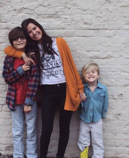 Sunshine Has Two Children With Her Husband Crawford