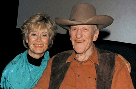 James Arness married Janet until his demise.