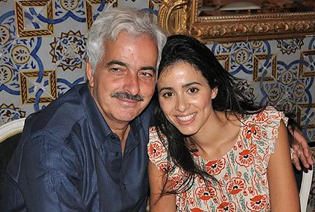 Lazaar was initially influenced by her father Kamel.