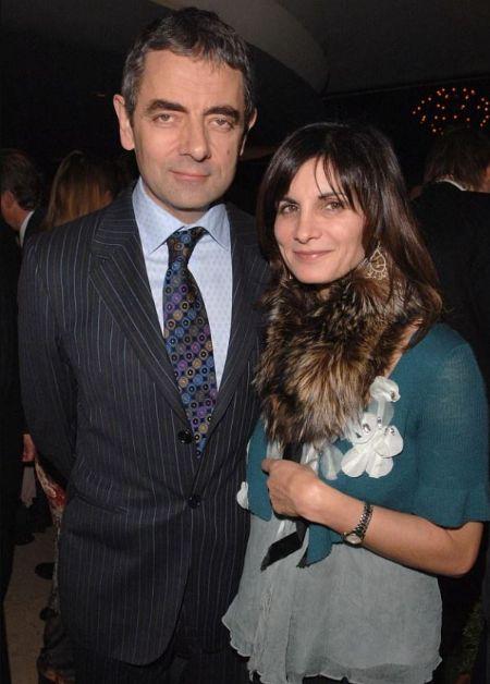 Sunetra Sastry With Her Ex-Husband Rowan Atkinson