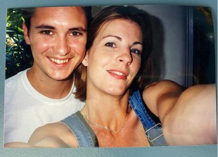 Anne Wheaton With Her Then-Boyfriend Wil back in Spring 1996