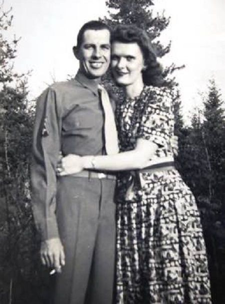 Connie Koepke's late parents.