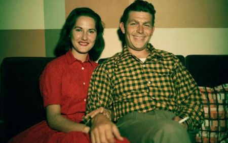 Dixie Griffith Parents Andy Griffith and Barbara