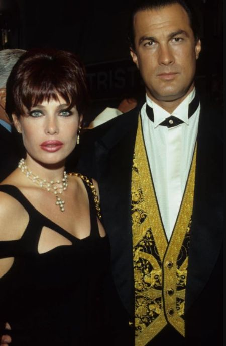 Dominic Seagal's Mother Kelly And Father Steven