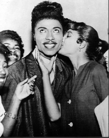 Ernestine Campbell With Her Ex-Husband Little Richard