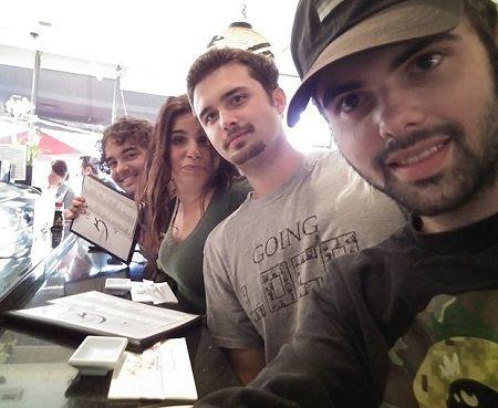 Dana's children with her ex-husband Jason Gedrick.
