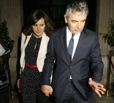 Louise Began Dating Boyfriend Rowan Atkinson In 2014