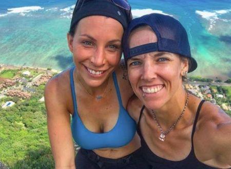 Lyssa Chapman With Her Girlfriend-Turned-Fiancee Leiana Evensen