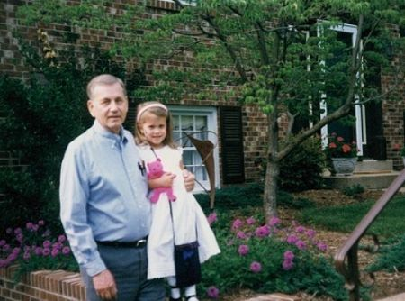 Parris had a close relationship with her grandpa.