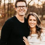 Travis Lane Stork wife Parris Bell.