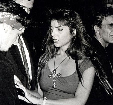 Nicolette with her ex-boyfriend Sean.