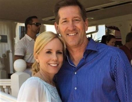Stacy Hornacek With Her Husband Jeff