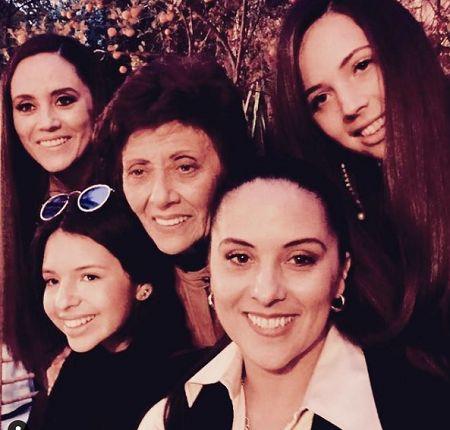 Aneliz Alvarez parents and siblings.