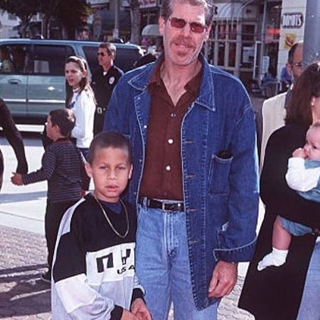 Brandon Avery Perlman's actor father Ron