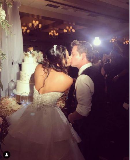 Katie Drysen & Jason Earles Photo From Their Wedding Day