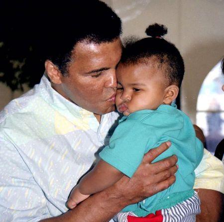 Muhammad Ali's youngest son Asaad Ali.