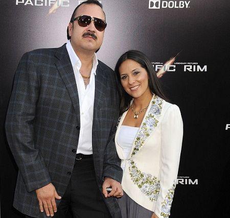 Aneliz Aguilar Alvarez and her spouse Pepe.
