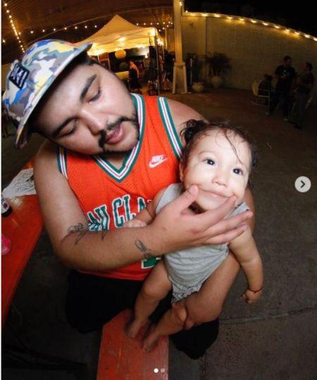 Savani Quintanilla Is a Father Of a Son