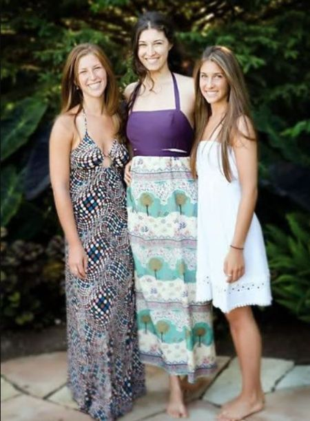 Emily Beth Stern With Her Siblings