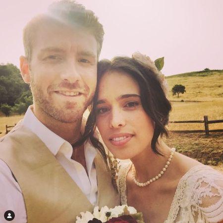 Chelsea Tyler & Her Husband Jon Foster On Their Wedding Day