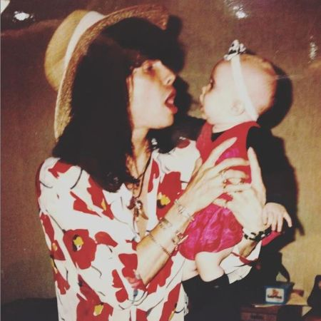Chelsea With Her Father Steven Tyler