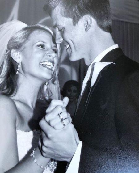 Emily Kuchar & Husband Zack Greinke On The Wedding Day