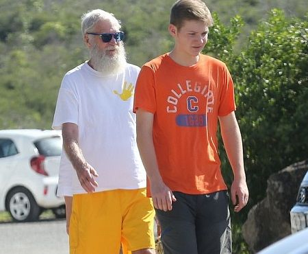 David Letterman's son Harry Joseph Letterman stands at 6ft 1 in.