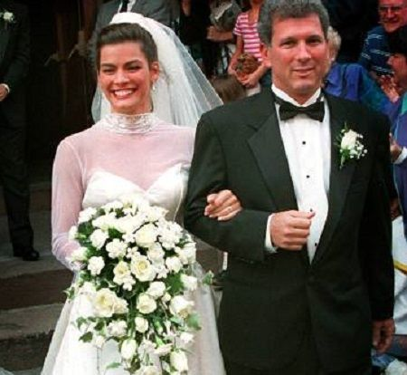 Jerry and Nancy at their wedding.