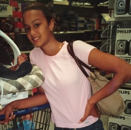 Draya Michele when she was young.
