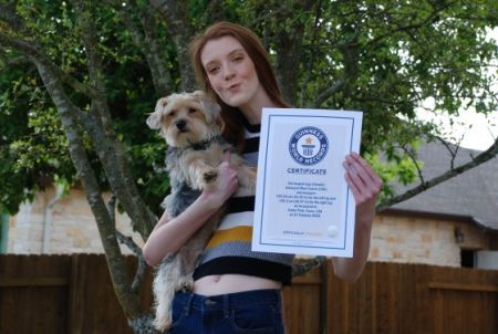 Maci Currin Guinesss World Records