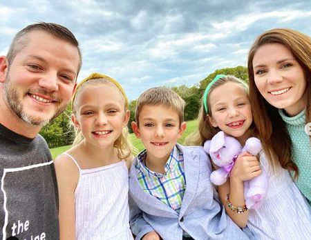 Matt has three children with his spouse.