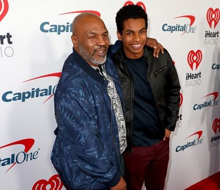 Miguel and his father Tyson