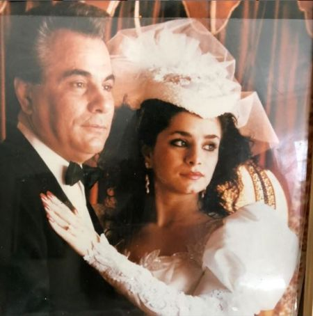 Victoria With Her Father John Gotti