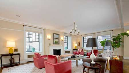 Tina Fey and Jeff Richmond's NYC apartment