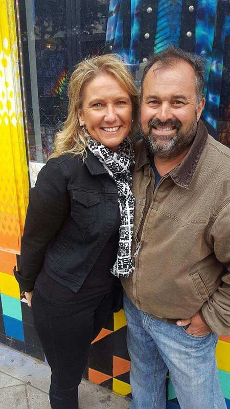 Frank Fritz and his ex-fiancee Diann Bankson