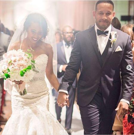 Carrington Franklin Married Her Husband Maxx Nakwaasah in 2016