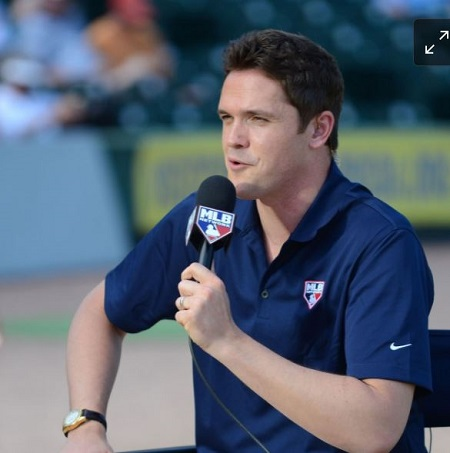 Greg Amsinger Is A Sportscaster By Profession