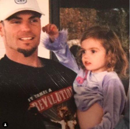 KeeLee Breeze Van Winkle With Her Father Vanilla Ice